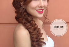 Shi Ying AD by Cocoon makeup and hair