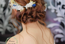 Si min big day (morning and evening looks) by Cocoon makeup and hair