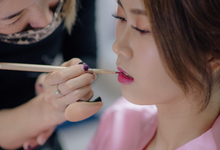 Hui Yang AD by Cocoon makeup and hair