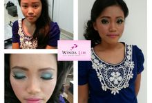 Before - after by Winda Lim Makeup Artist