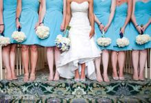 Bridesmaids Galore by Christy Ng Shoes