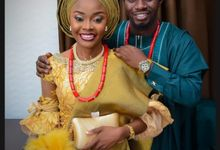 Comfort Reuben & Damilare Adetunji Nigerian wedding Highlights by Rayhouse Studios