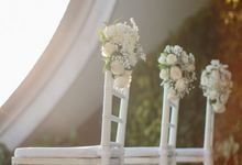 Wedding Decor at Como Uma Canggu by Red Gardenia