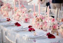 Wedding reception at Conrad Koh Samui beach by BLISS Events & Weddings Thailand