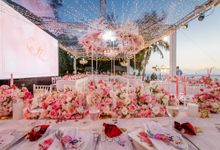 Wedding reception at Conrad Koh Samui beach by BLISS Events & Weddings Thailand