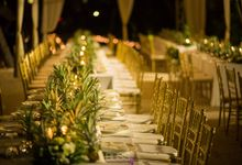 Welcome dinner on the beach tropical theme by BLISS Events & Weddings Thailand