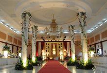 Wedding Decoration by BRAJA MUSTIKA Hotel & Convention Centre