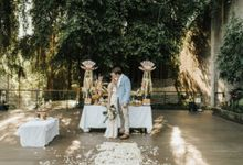 Just the 2 of us at Sthala Ubud Bali Wedding by Chroma Wedding
