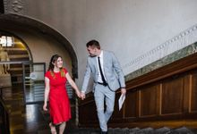 Copenhagen City Hall Wedding / Elopement by Ieva Vi Photo by Ieva Vi Photography