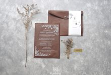 NEW NORMAL WEDDING Acrylic Monochrome Package (min. order 30 pcs only) by Furēmu