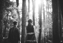 Putri & Reza Prewedding by Anorumi Photography