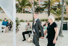 Grand Fiesta Americana Coral Beach Cancun Wedding by Blaine Alan Photography