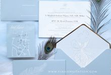 Fira & Herdi by Vinas Invitation