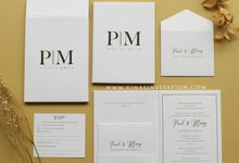 Paul &Mary by Vinas Invitation