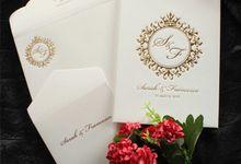 Sarah & Fransesco by Vinas Invitation