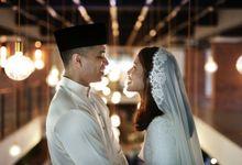 Wedding Journey of  Shazeya & Abu Dani by Drawn