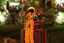 BALI GARDEN INDIAN WEDDING DECORATION by Bali Izatta Wedding Planner & Wedding Florist Decorator