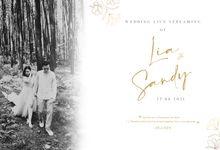 LIA & SANDY - CINEMATIC WEDDING LIVE STREAMING by 90STUDIO Indonesia