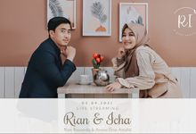 RIAN & ICHA - LIVE STREAMING AKAD NIKAH by 90STUDIO Indonesia