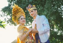 Jessica and Jeroen Balinese Traditional Wedding by Kamandalu Ubud