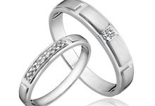 Tiaria Coveted Mate Diamond Ring Perhiasan Cincin Pernikahan Emas dan Berlian by TIARIA