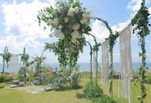 Wedding Ceremony Dreamcatcher Sunny Decoration by Bali Alideko Event & Wedding Decoration