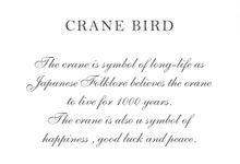 Crane Bird Box by NINbox.box