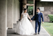 Mariel and James Wedding by Craving for Makeup