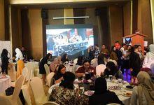 Lauching Table & Tray by Belawa Ballroom
