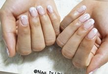Wedding Nails - Romantic Laxe by Nail It Up!