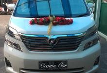 Wedding Car by Crown Car Rental