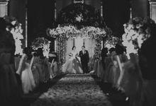 Claudia & Renaldo Wedding Ceremony by ATIPATTRA