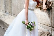 Wedding dress Sashes and Belts by Fancy Bowtique Bridal Couture