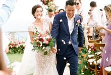 The Wedding of Crystalia & Alvin by ThePhotoCap.Inc