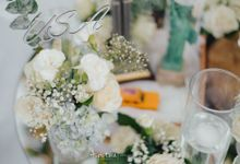 The Wedding of Caleb & Santy at sofitel by Red Gardenia