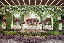 THE WEDDING OF CLARISSA & SAMUDRA by  Menara Mandiri by IKK Wedding (ex. Plaza Bapindo)