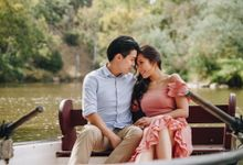 Yarra River outdoor pre wedding by Photo by James Lee