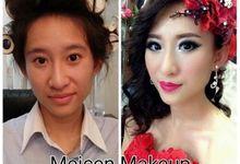 Prewedding makeup by Meicen Professional Makeup Artist