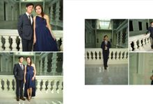 Cross Culture Marriage Prewedding Shoot by Tiffany Beauty Unveil Makeover