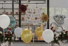 Mirah Reistriana's Bridal Shower by cuteylastingfleur