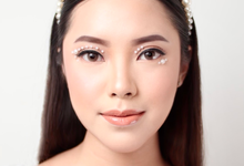 Glass Skin Makeup by CV Makeupartist by Claudia Vanessa
