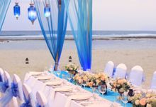 Wedding Dinner by Courtyard by Marriott Bali Nusa Dua