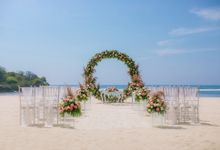 Wedding Ceremony Decoration by Courtyard by Marriott Bali Nusa Dua