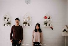 Prewedding Photo of Cynthia dan Adit by Mazally Photography