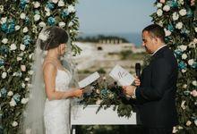 The Wedding of Catherine & Zach by Bali Wedding Specialist