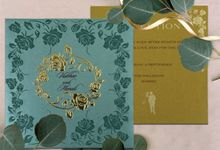 Indian wedding Invitations Custom by 123WeddingCards