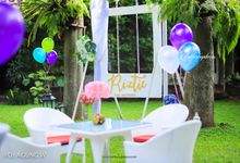 Garden birthday by Buttercup Decoration