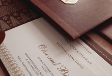 CLASSY LUXURIOUS MAROON - OLVI & BIMA'S WEDDING by Studio Kata