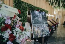 Wall of Fame by  Menara Mandiri by IKK Wedding (ex. Plaza Bapindo)