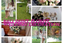 wedding package by BALI SAINT FLORIST&wedding decoration
